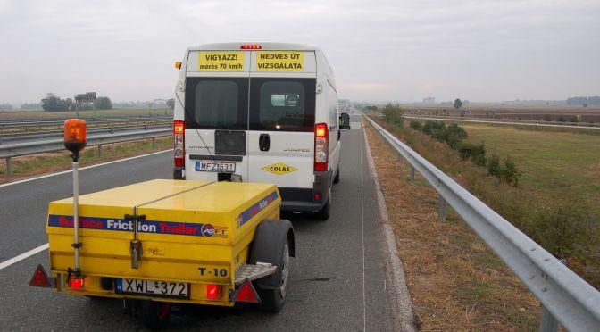 ASFT-felmérés a magyar gyorsforgalmi hálózaton 2