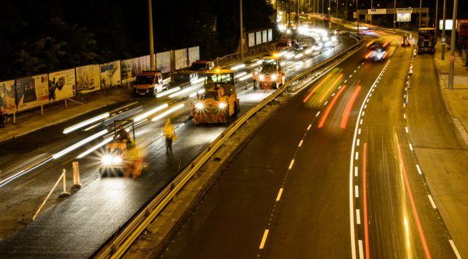 Budaörsi út felújítás 3