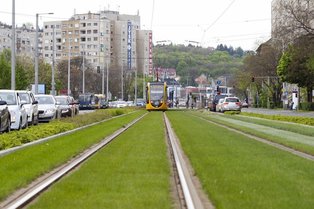Budapesti 1-es villamos vonal felújítása (Bécsi út-Kerepesi út)