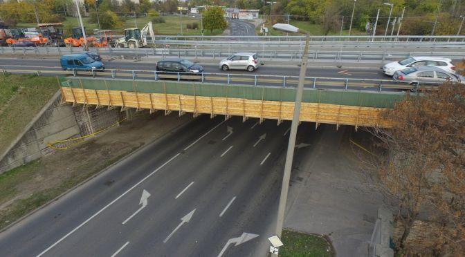 Hídfelújítások az M5-ös bevezetőn 2