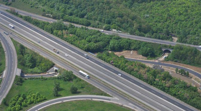 M0-M7 autópálya csomópont átépítés 4