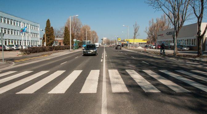 Szeged, Vásárhelyi Pál utca komplex felújítási munkái 3
