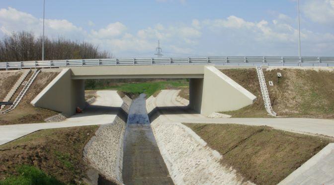 Szilas-patak híd, Rákospalotai határút