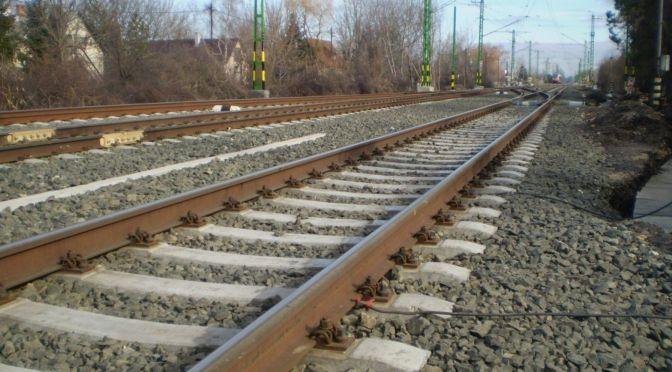 Tárnok-Székesfehérvár vasútvonal zúzottkő szállítás 1