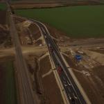 Elkészült a 3-as főút korrekciós szakasza az M25-ösön